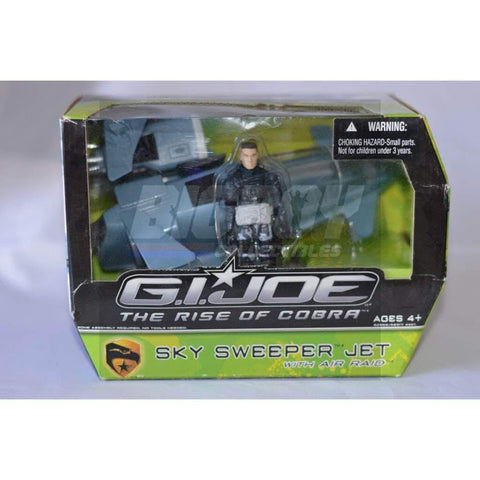 Image of Hasbro G.I. Joe Vehicle Sky Sweeper Jet with Air Raid
