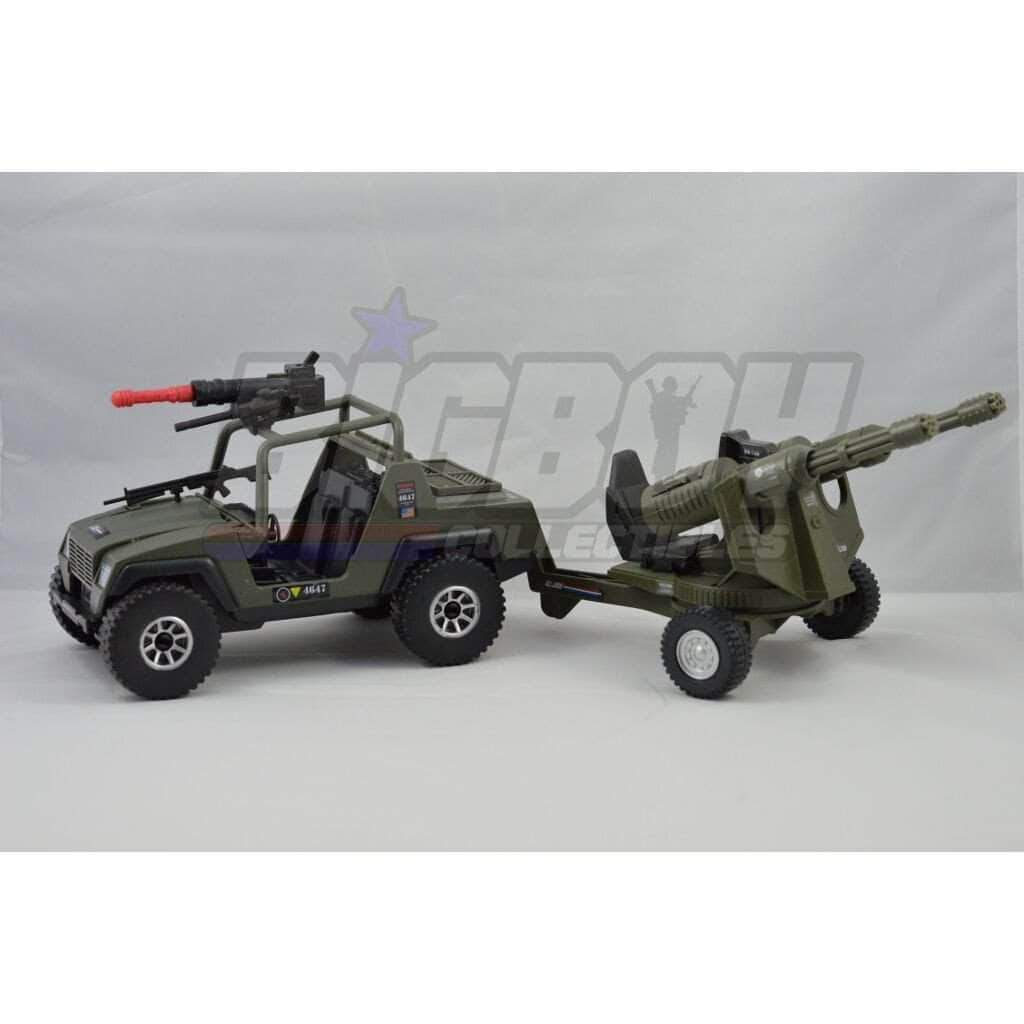 Hasbro G.I. Joe Vehicle V.A.M.P. with Twin Battle Gun (2004)