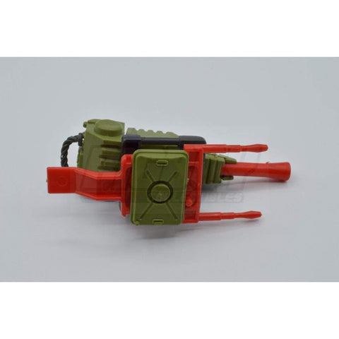 Hasbro Parts 1983 Pac Rat Flamethrower Parts