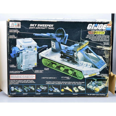 Hasbro Parts 1987 Battleforce Sky Sweeper Body & Box