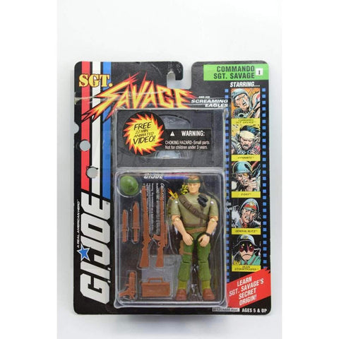 Image of Hasbro SGT Savage SGT. Savage Commando SGT. Savage (v1)