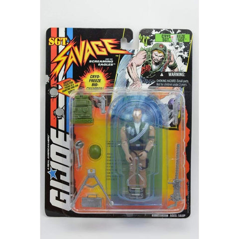 Hasbro SGT Savage SGT. Savage Cryo-Freeze (v4)