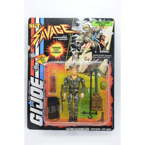 Hasbro SGT Savage SGT Savage Jungle Camo D-Day