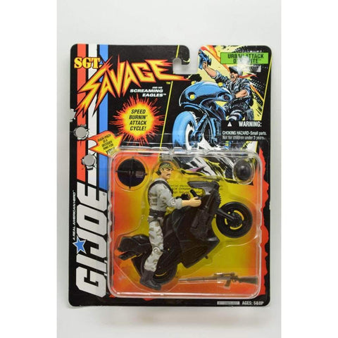 Image of Hasbro SGT Savage SGT. Savage Urban Attack Dynamite Figure