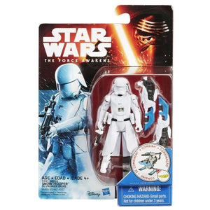 "Hasbro Star Wars Star Wars 3.75"" Snow and Desert First Order Snowtrooper (The Force Awakens)"