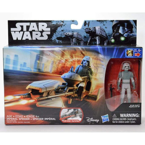 Image of Hasbro Star Wars Star Wars Rouge One Imperial Speeder with AT-DP Pilot