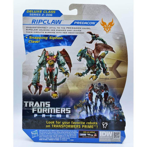 Image of Hasbro Transformers Transformers Beast Hunters Ripclaw Figure