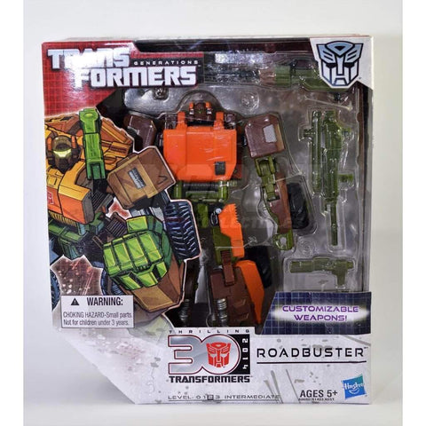 Image of Hasbro Transformers Transformers Generations 30th Anniversary Roadbuster