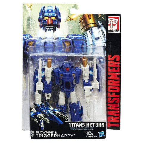 Image of Hasbro Transformers Transformers Generations Deluxe Titans Return Wave 3 Triggerhappy