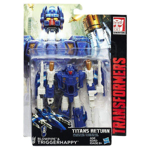 Hasbro Transformers Transformers Generations Deluxe Titans Return Wave 3 Triggerhappy