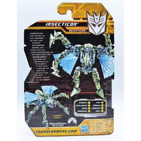 Hasbro Transformers Transformers Hunt for the Decepticons Insecticon