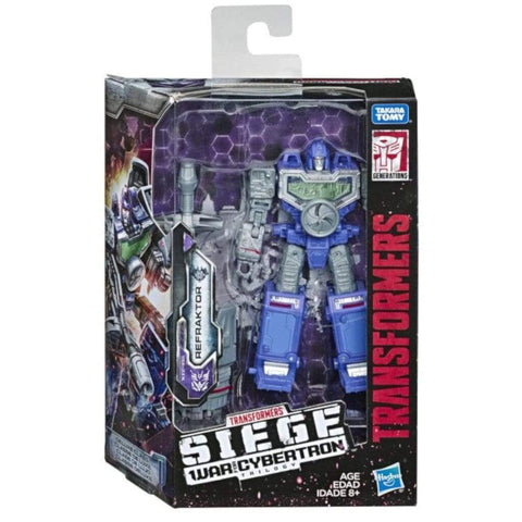 Image of Hasbro Transformers Transformers War for Cybertron Siege Deluxe Refraktor Figure
