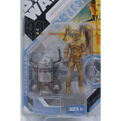 Image of kenner Star Wars Star Wars 30th Anniversary R2D2 & C-3PO