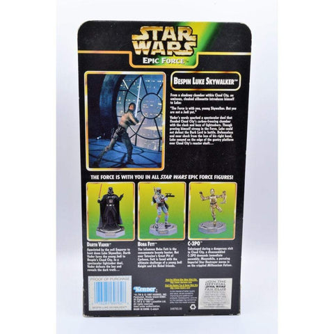Image of kenner Star Wars The Power of the Force Epic Force Bespin Luke Skywalker