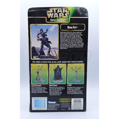 Image of kenner Star Wars The Power of the Force  Epic Force Boba Fett