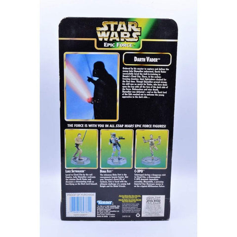 Image of kenner Star Wars The Power of the Force  Epic Force Darth Vader