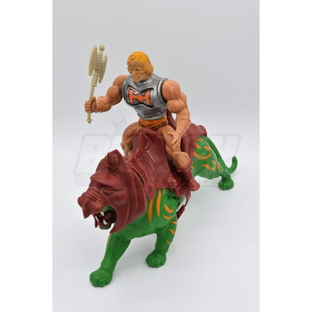 Mattel MOTU 1985 He-man & Battle Cat