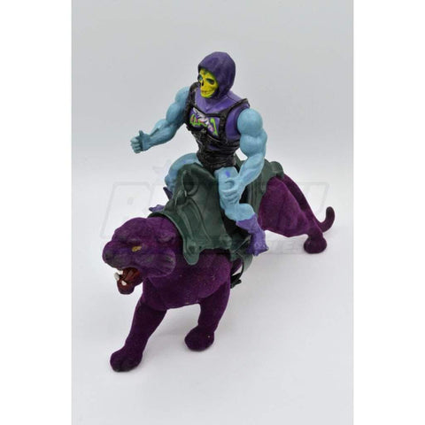 Image of Mattel MOTU 1985 Skeletor & Panthor