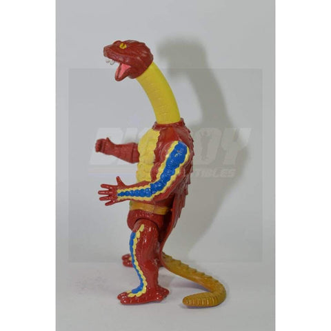 Image of Mattel MOTU 1986 Rattlor Figure