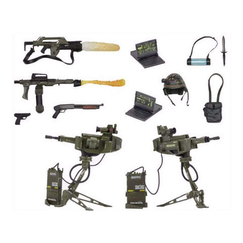 Image of Neca Aliens Aliens Accessory Pack USMC Arsenal Weapons Pack