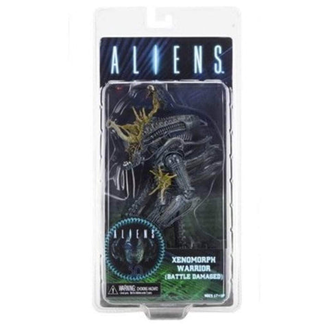 Image of Neca Aliens Aliens Series 12 Xenomorph Warriors (Battle Damaged Blue)