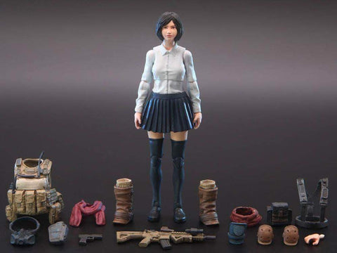 Ouying Studio Planet Green Valley Planet Green Valley EFSA Aviation School Girl Amy 1:18 Scale Figure