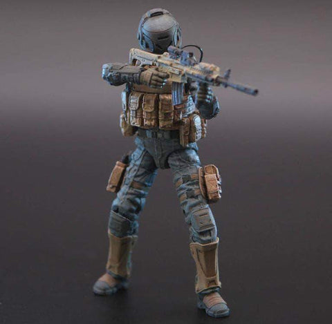 Image of Ouying Studio Planet Green Valley Planet Green Valley EFSA Security Forces Combat Uniform 1/18 Scale Figure