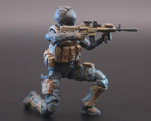 Ouying Studio Planet Green Valley Planet Green Valley EFSA Security Forces Combat Uniform 1/18 Scale Figure