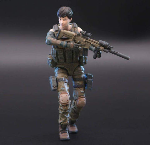 Ouying Studio Planet Green Valley Planet Green Valley EFSA Security Forces Mind Controller 1:18 Scale Figure