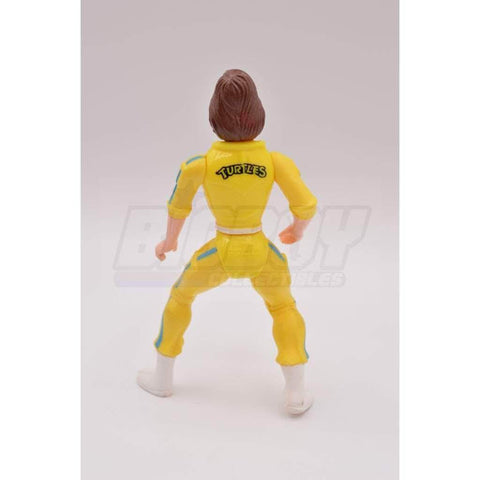 Image of Playmates TMNT 1988 April O'Neil Teenage Mutant Ninja Turtle Figure