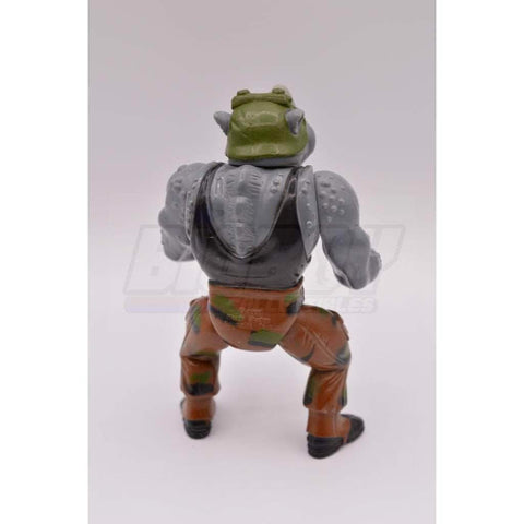 Image of Playmates TMNT 1988 Rocksteady Teenage Mutant Ninja Turtle Figure