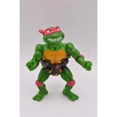 Playmates TMNT 1989 Breakfightin' Raphael Teenage Mutant Ninja Turtle Figure