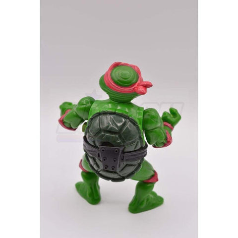 Image of Playmates TMNT 1989 Breakfightin' Raphael Teenage Mutant Ninja Turtle Figure