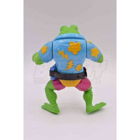 Playmates TMNT 1989 Genghis Frog Teenage Mutant Ninja Turtle Figure