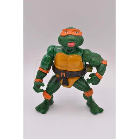 Image of Playmates TMNT 1989 Rock N Roll Michaelangelo Teenage Mutant Ninja Turtle Figure