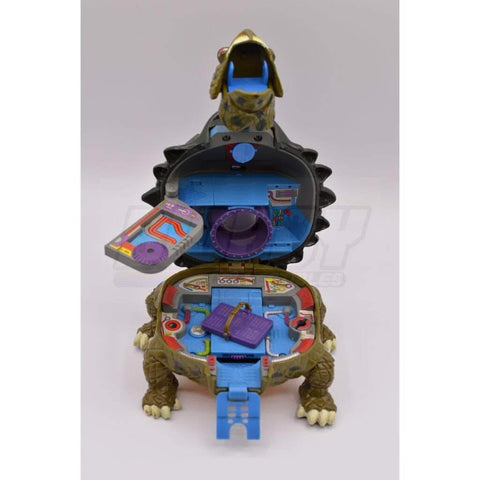 Image of Playmates TMNT 1994  Mini Mutants Tokka Technodrome Teenage Mutant Ninja Turtle Figure