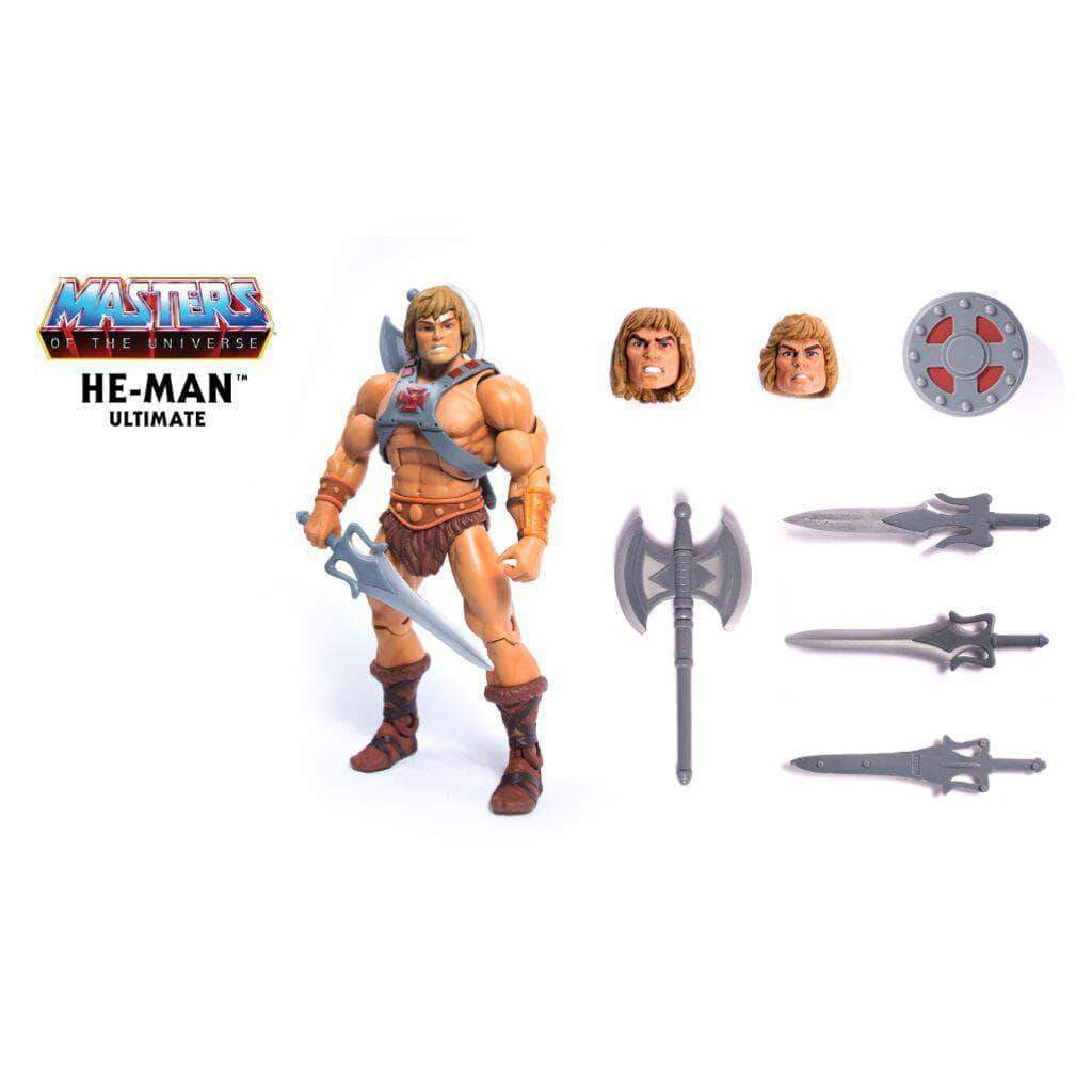"""Loyal Subjects Masters of the Universe MOTU Sword /& Shield Weapons for 3/"""" HE-MAN"""
