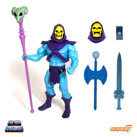 Super7 MOTU Masters of the Universe Ultimates Club Grayskull Skeletor Figure