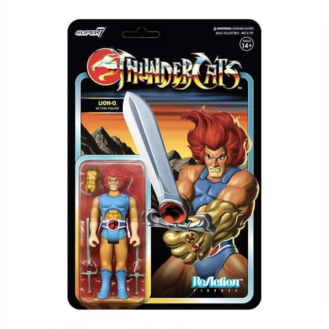 Image of Super7 Thundercats ThunderCats ReAction Lion-O
