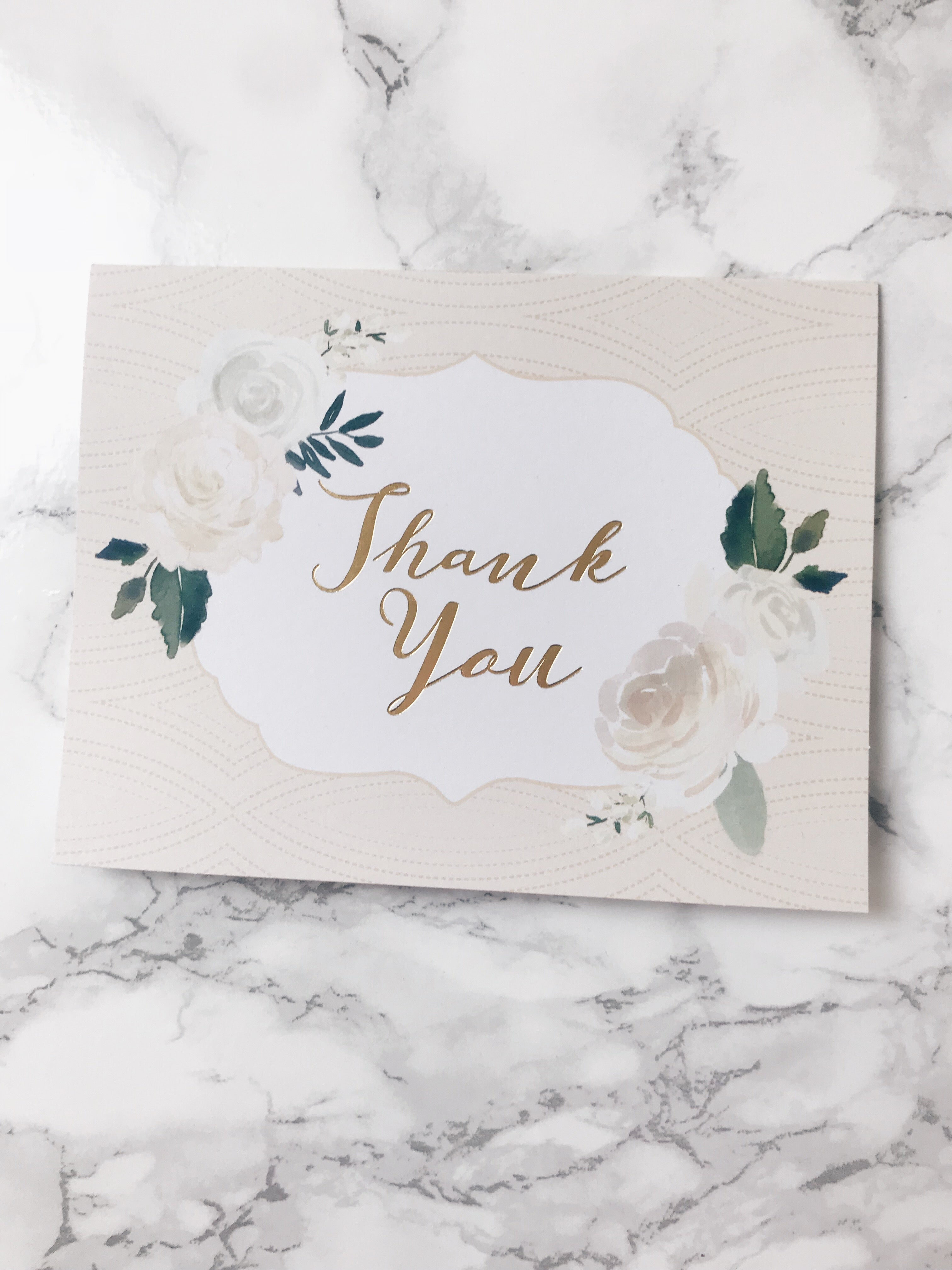Thank You Greeting Card Purpose Planner