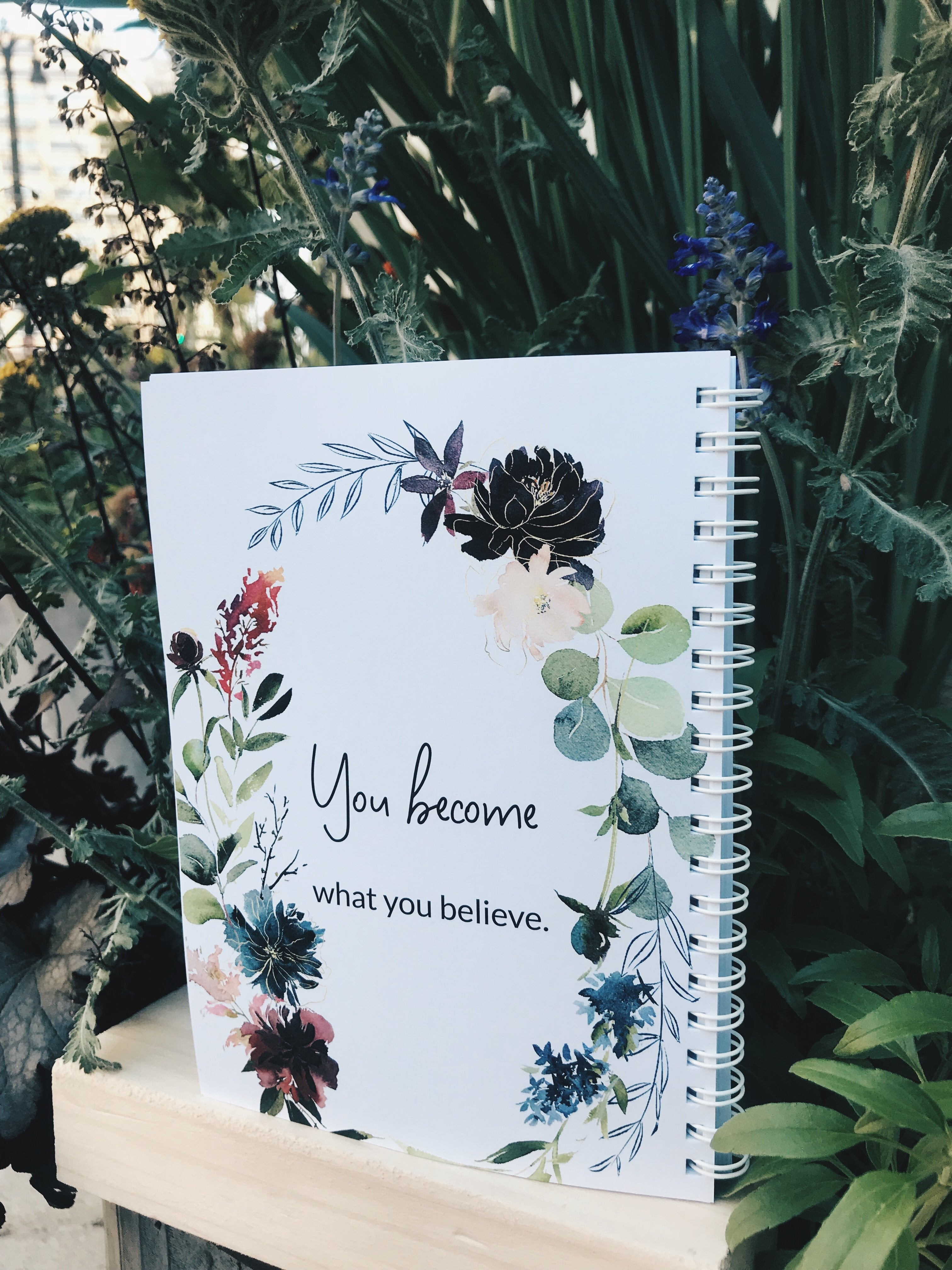 Blossoming Ideas Notebook