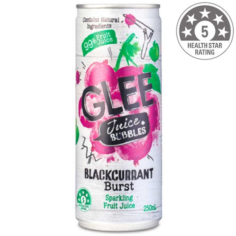 Glee Blackcurrant Juice Bubbles