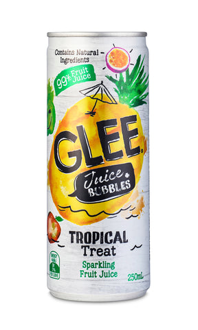 Glee Tropical Juice Bubbles