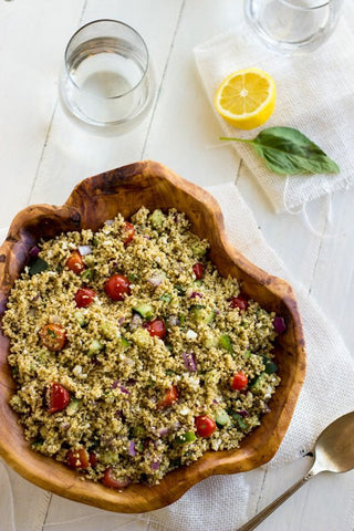Mediterranean Couscous & Grilled chicken