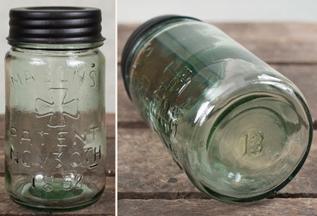 Reproduction #13 Pint Mason Jar
