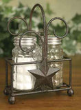 Star Salt Pepper and Toothpick Caddy