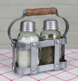 Milk Crate Salt and Pepper Caddy