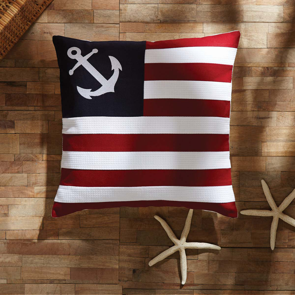 American Ahoy Pillow 18x18