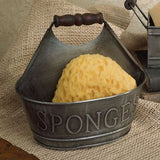 Country Primitive Lil' Sponge Holder/Caddy Farmhouse NEW