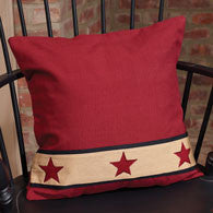 Barn Star Pillow (3 colors avail)